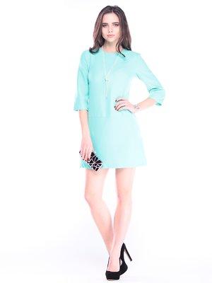 Сукня кольору ментолу | 2996600