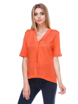Кардиган оранжевый | 3395480