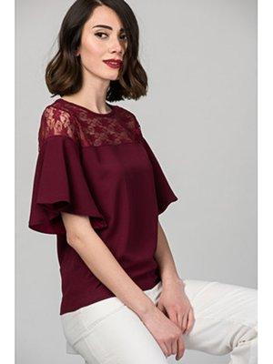 Блуза сливового цвета | 3375345