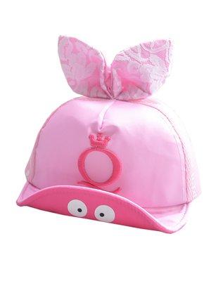 Бейсболка рожева з принтом | 3397597