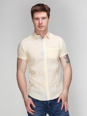 Рубашка желтая | 3009836
