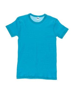 Футболка голубая | 3240353