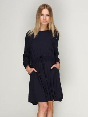 Платье темно-синее | 1899450