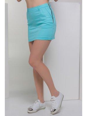 Спідниця блакитного кольору | 3407079
