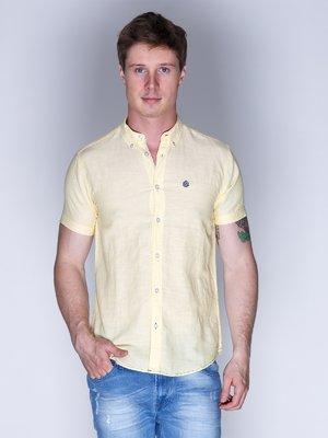 Рубашка желтая | 3009828