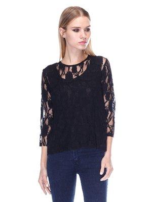 Блуза черная | 3400092