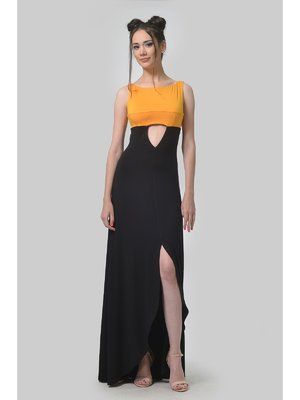 Платье двухцветное | 3409896