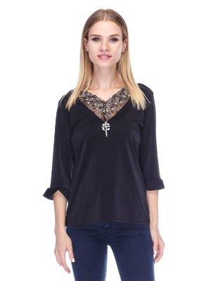 Блуза черная | 3400099