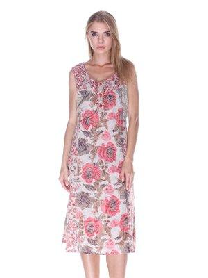 Платье в принт | 3399977