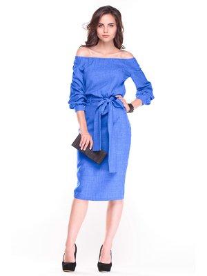 Сукня кольору електрик | 3323548