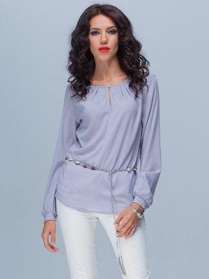 Блуза сиреневая | 3143605