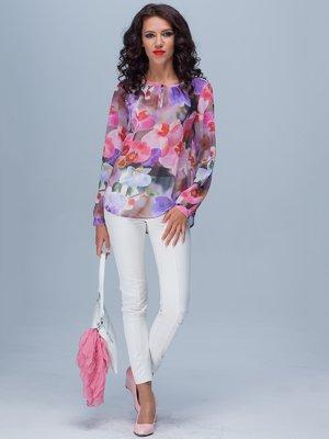 Блуза в яскравий принт | 3204875