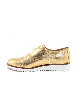 Туфли золотистые   3414425