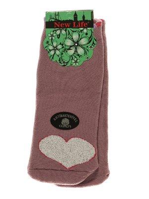 Носки сиреневые с рисунком   3406008
