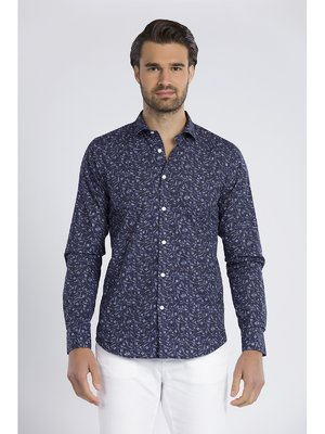 Рубашка синяя | 3418626