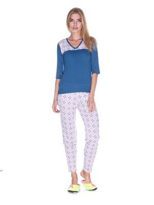 Комплект домашній: лонгслів і штани | 3403370