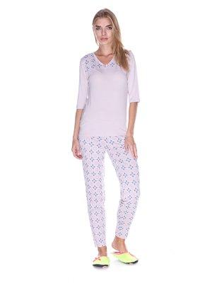 Комплект домашний: лонгслив и брюки | 3403368