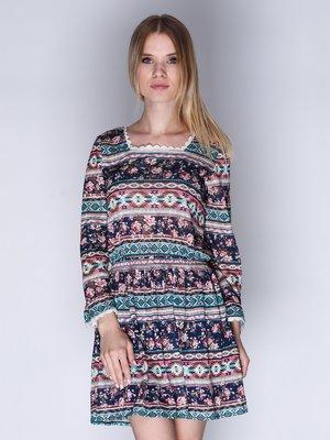 Сукня комбінованого забарвлення | 3010641