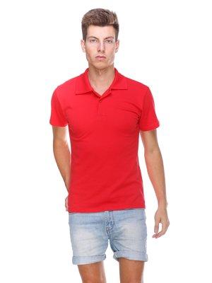 Футболка-поло червона | 3403386