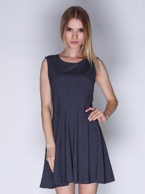 Сукня темно-сіра | 2992430