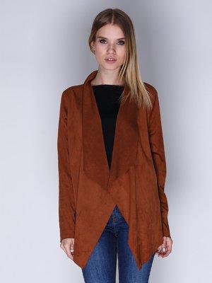 Жакет коричневый | 3010197