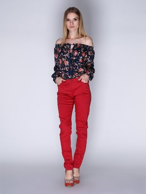 Джинсы красные | 3010052