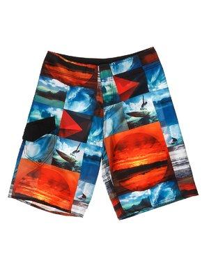 Шорты разноцветные для плавания | 3423210