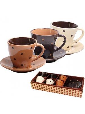 Сервиз кофейный «Карамель» (12 предметов) | 3425337