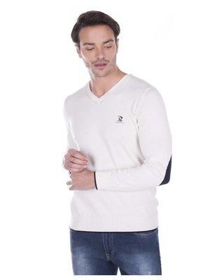 Пуловер молочного цвета   3168778