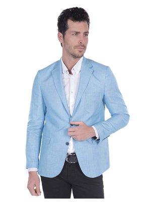 Пиджак голубой | 3420870
