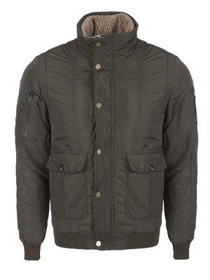 Куртка кольору хакі | 3420909