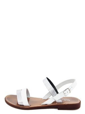 Сандалии серебристо-белые | 3435501