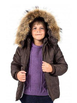 Куртка коричнева | 3437632