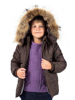 Куртка коричнева | 3437633