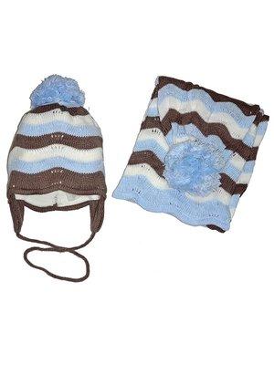 Комплект: шапка і шарф | 3437661