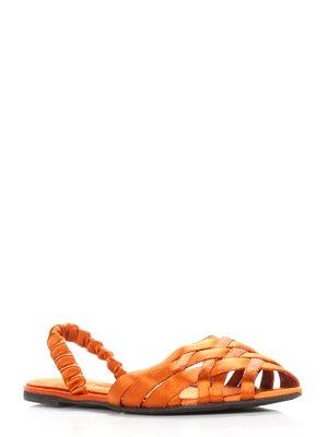 Сандалії помаранчеві - Ines de la Fressange - 3435411