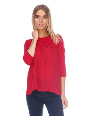 Блуза бордовая | 3423804