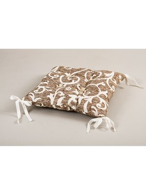 Подушка на стілець Jaco (45х45 см) із зав'язками | 3439714