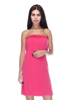 Сукня-бюстьє рожева | 3431614