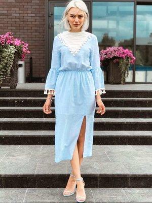Платье голубое   3225533