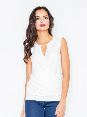 Блуза молочного цвета | 3440921