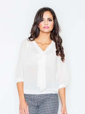 Блуза молочного цвета | 3441318