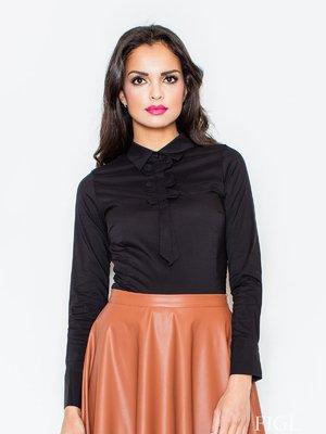Блуза черная | 3441388