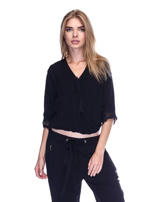 Блуза черная | 3324940
