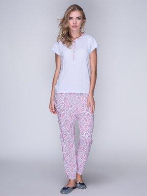 Пижама: футболка и брюки | 3011265