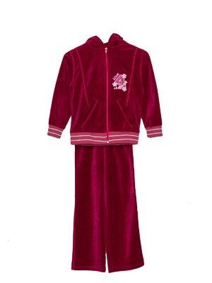 Костюм спортивний велюровий: толстовка і штани   3445252