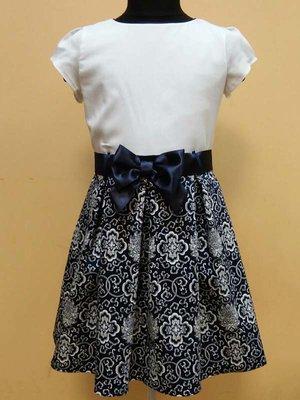 Сукня біло-синя | 3062548