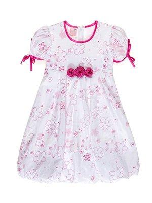 Платье белое в принт   3451142