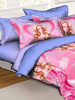Комплект постельного белья полуторный детский | 3453077