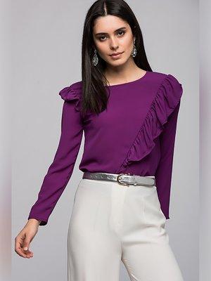 Блуза сиреневая | 3453937